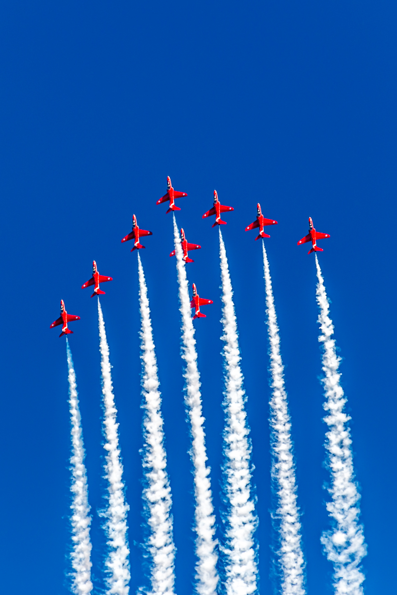 Red Arrows - RoydonsPhotography