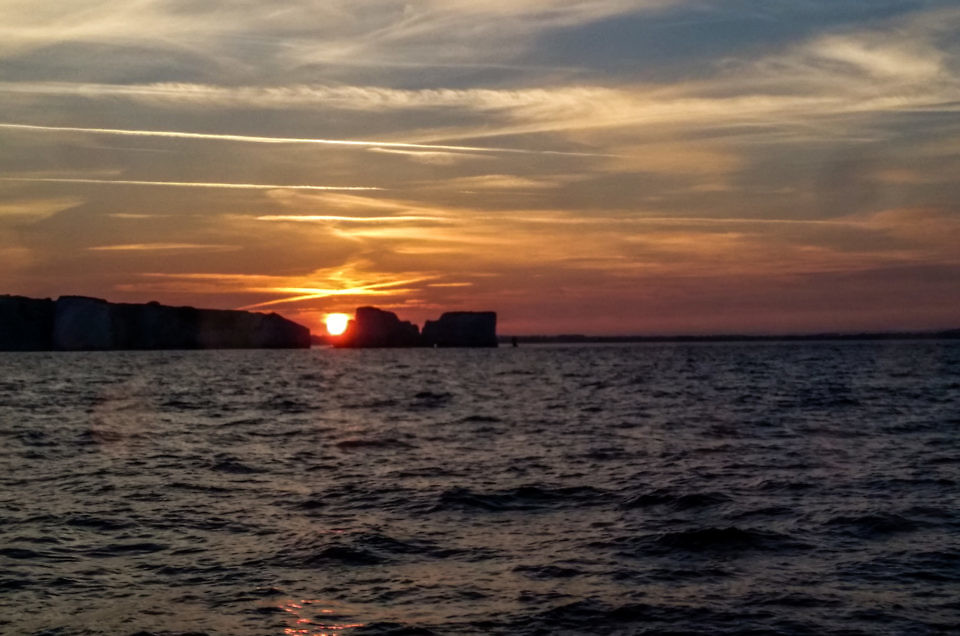 Sunset Old Harry