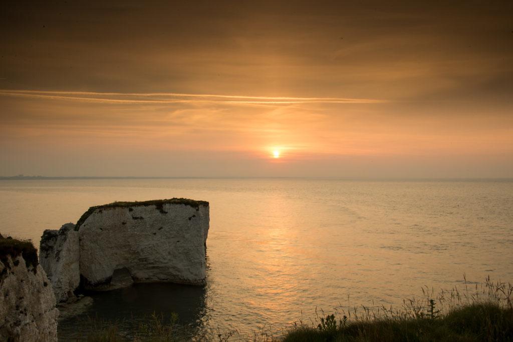 Summer Solstice Sunrise at Old Harry's Rocks