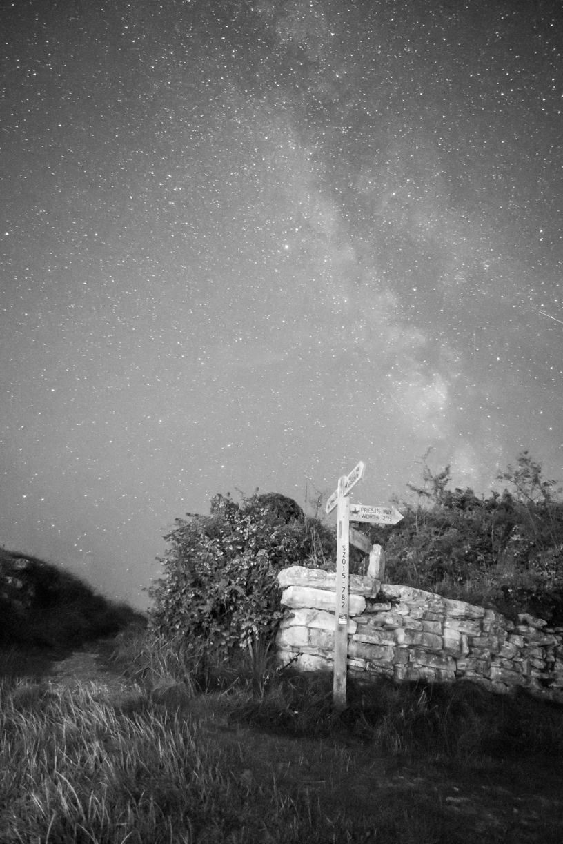 Milky Way Priests Way Swanage