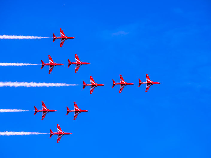 Red Arrows Swanage Carnival 2017