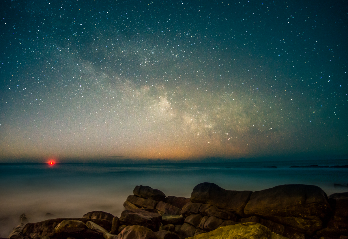 Milky Way Peveril Point Swanage Dorset