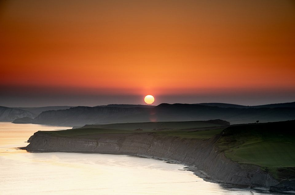 Chapman's Pool Sunset Image
