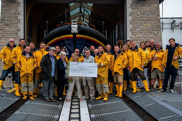 Swanage lifeboat station receives generous donation