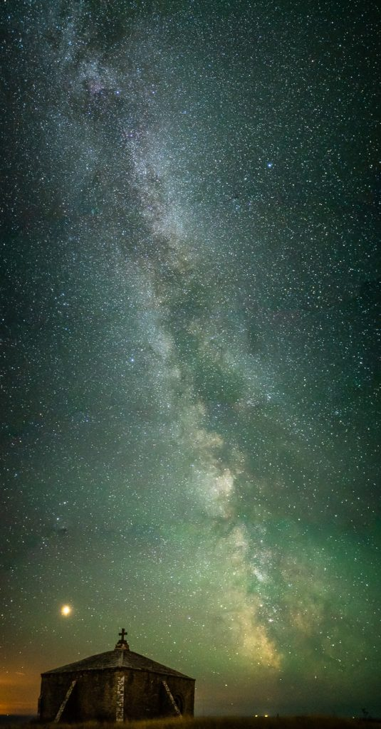 Astro Photography Dorset St Aldhelms Chapel Milky Way