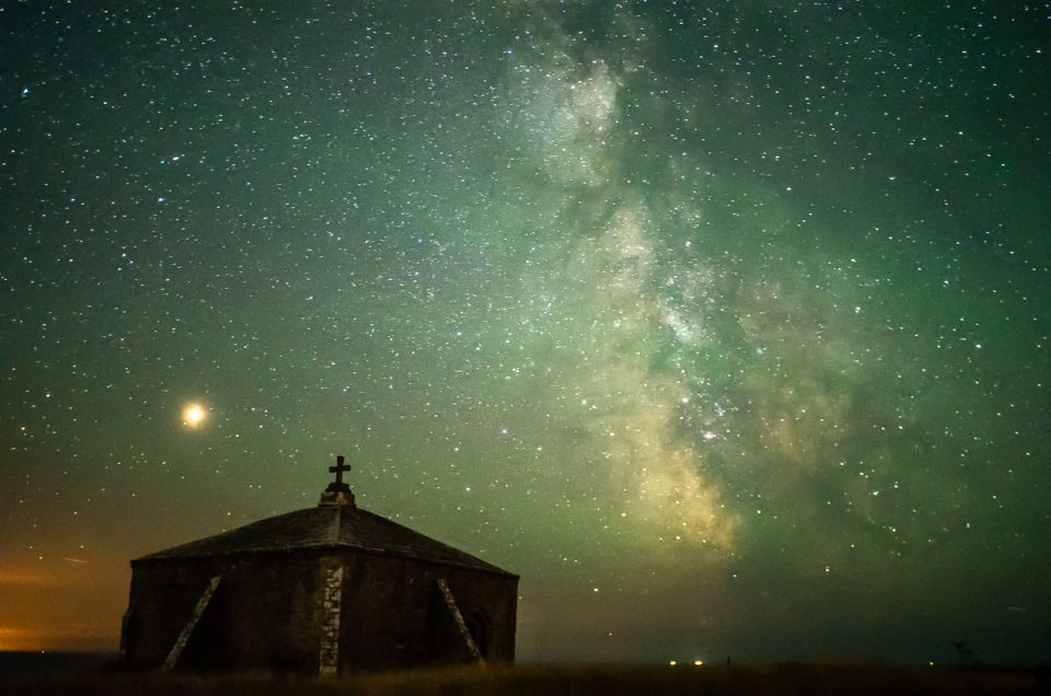Astro Photography Dorset St Aldhelms Chapel Worth Matravers Swanage Milky Way