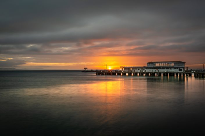 Weymouth Dorset Landscape photography Sunrise over Pier