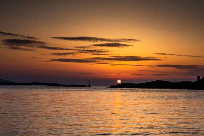 Leverburgh Isle of Harris Sunset Landscape Photography