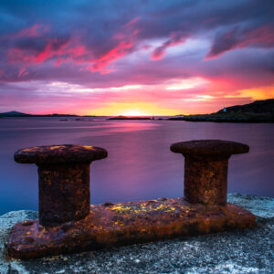 Sunset Photography Leverburgh Isle of Harris