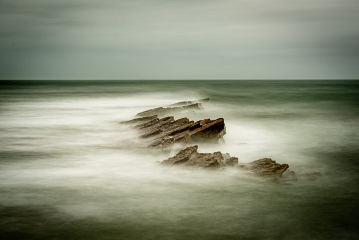 Peveril Ledge Swanage Long Exposure Picture