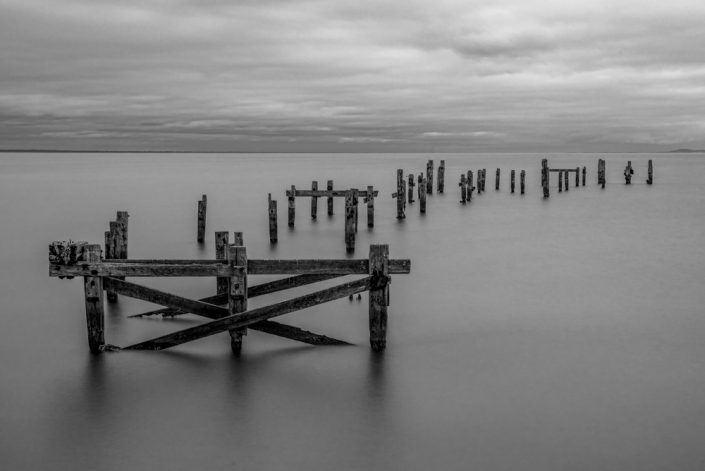 Swanage Pier Long Exposure Dorset Seascape